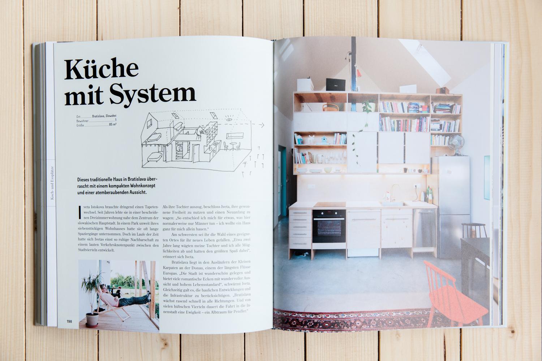 Im Buch Raumwunder Wurden Ideen Für Kleine Wohnungen Zusammengestellt.  Küchen Auf Kleinstem Raum, Bücherregale In Treppen Und Vieles Mehr.